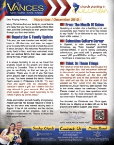 Click Here to see the print version of our prayer letter.