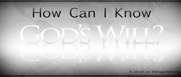 Knowing God's Will Banner