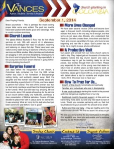 Click for a printable PDF of our prayer letter (with pictures!).