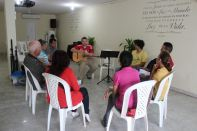 Leadership training time... God is working among our church leaders!
