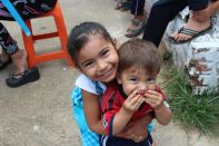 These precious kids are all smiles!
