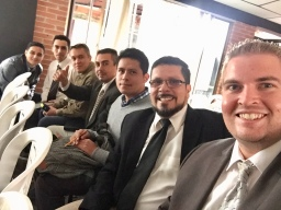 I love these men, and am thrilled to see God's work in their lives! (Juan, Jhon, Libardo, Díver, Jhon Freddy & Óscar)