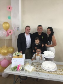 Congrats to Yesid and Eddy, the latest couple to get married from our church.
