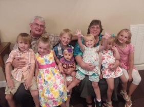 In July, my parents brought the rest of the grandkids to meet us while we were at a missions conference in Tennessee.